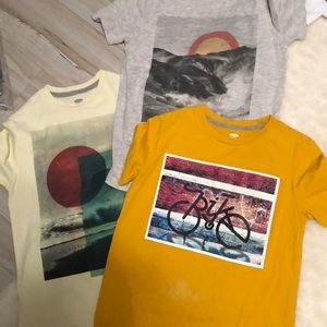 Set of 3 graphic tees boys